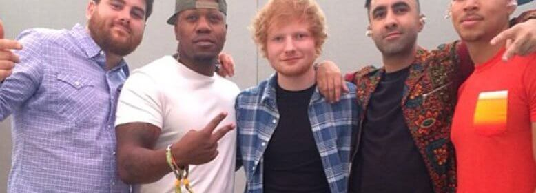 rudimental ed sheeran single music video lay it all on me