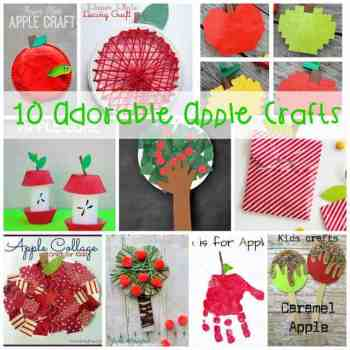 10 Seriously Adorable Apple Crafts