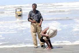 pakistani police man