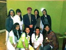 zaid hamid with girls