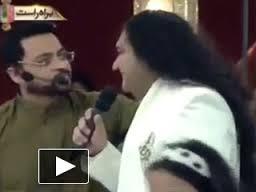 amir liaquat with tahir shah