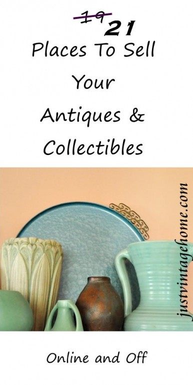 21 places to sell your antiques and collectibles where for How to sell stuff from home
