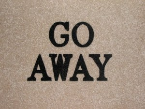 Spell to Make Someone Go Away