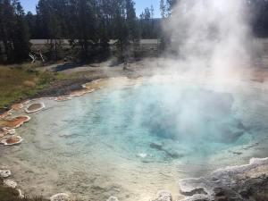 Yellowstone National Park yellowstone yellowstonenationalpark wyoming jusztravel travelusa idaho montanahellip