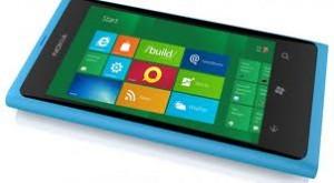 Nokia Lumia 800 with Windows Phone OS