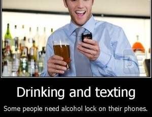 inmobi research on drinking and texting trends with Kenyans