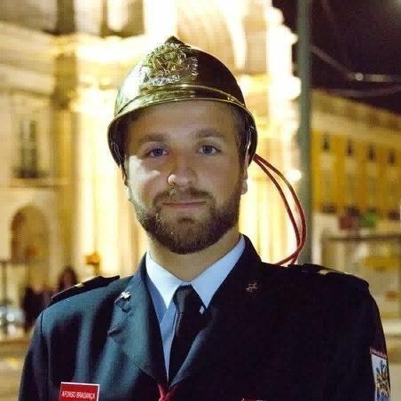 SAR o Senhor Dom Afonso, Príncipe da Beira na Sessão Solene do 150° aniversário da Real Associação Humanitária dos Bombeiros Voluntários de Lisboa (Páteo da Galé, Terreiro do Paço - Lisboa) - 19-Out-2018  Foto: Nuno Alburquerque