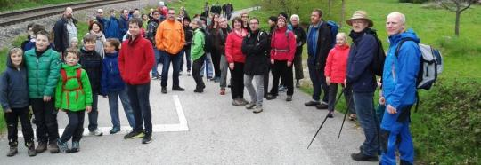 Traditionelle Wanderung