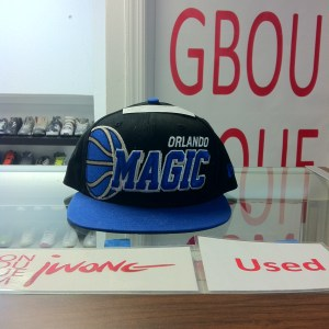 Snapback Orlando Magic Royal Blue Black Big Ball