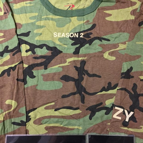 2015 yeezy season 2 friends and family invite tee green camo rothco 2015 yeezy season 2 friends and family invite tee green camo rothco jwong boutique stopboris Images