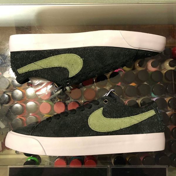 2018 Nike Sb Stussy Zoom Blazer Low Palm Green Jwong Boutique