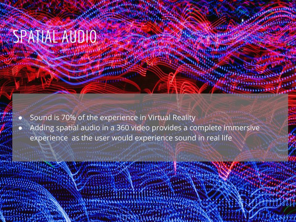 JYC Virtual Reality Production Studio JYC VR Drones Spatial Audio