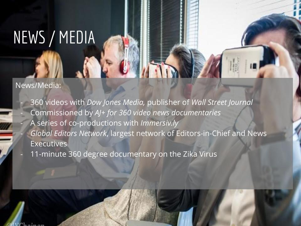 Virtual Reality Production Studio JYC VR News Media