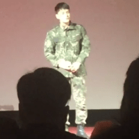 [VIDEOS/TRANS] 160204 More eyewitness accounts of Kim Jaejoong's performance at 55th div's training completion ceremony