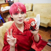 [HQ PICS + VIDEOS] 160209 C-JeS Naver Post: 'Commemoration of Dracula Last Performance' Peek into Xiacula's waiting room
