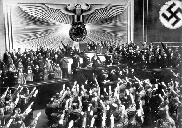 """Nazistern benyttede """"Schatzgraber"""" som strategisk vejrstation. Den blev bygget et år efter Tyskland indvaderede Rusland. Foto: AP Photo."""