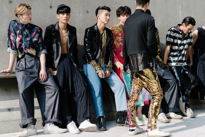 mode homme coréenne