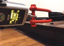 座席ベルト取付装置試験