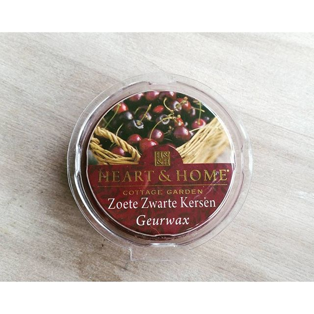 Heart & Home waxmelts Zoete Zwarte Kersen