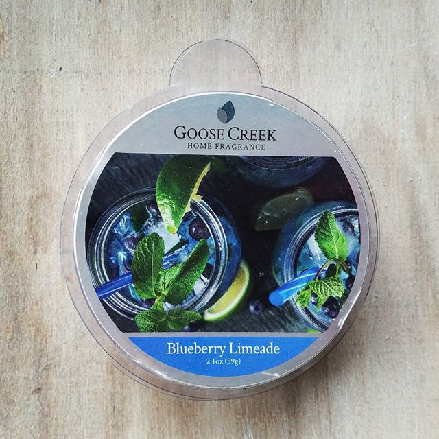 Goose Creek Blueberry Limeade