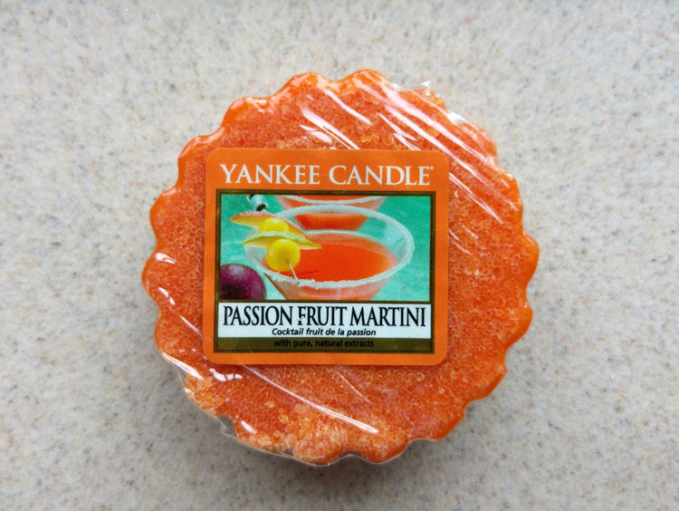 Yankee Candle Passion Fruit Martini