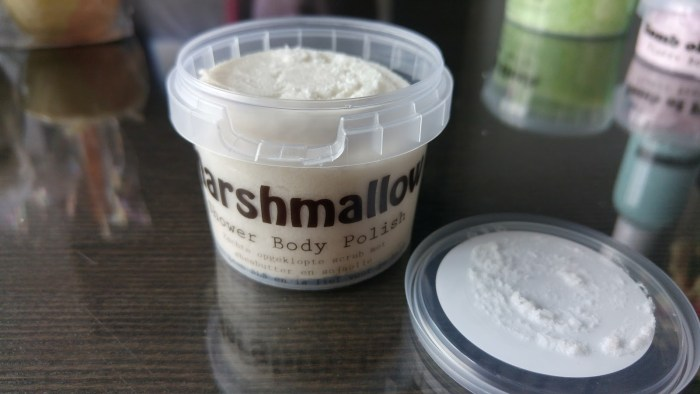 body polish marshmallow