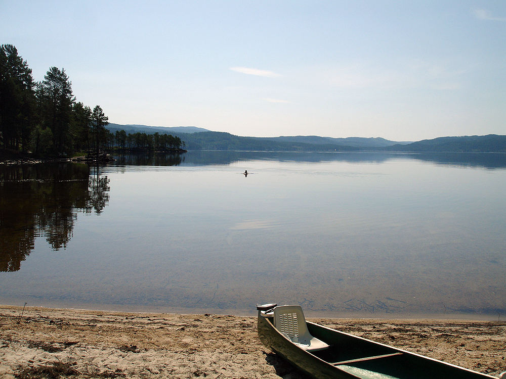 Bading på Follsjø
