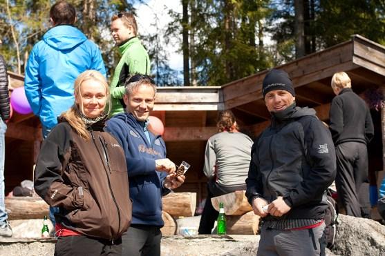 Anja, Lars og Ivan
