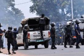 Kaloum: une manifestation des femmes  dispersée par la police