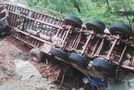 Axe Labé-Koundara: L'accident d'un camion fait 9 morts et plusieurs blessés