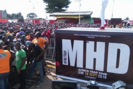 Culture/Palais du peuple : Le concert de MHD a failli tourné au drame