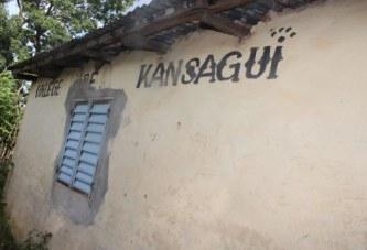 Kansagui (Tougué) : Le collège en ruine avancée !