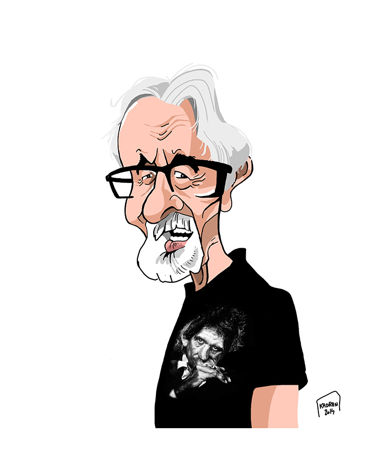 Philippe Moine, caricaturiste