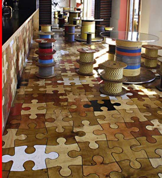creative inexpensive flooring ideas for improve home floor