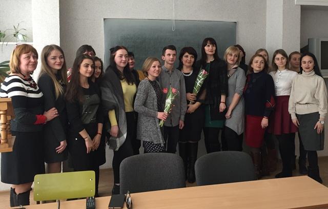 Майбутні філологи і журналісти разом із викладачами та гостями свята
