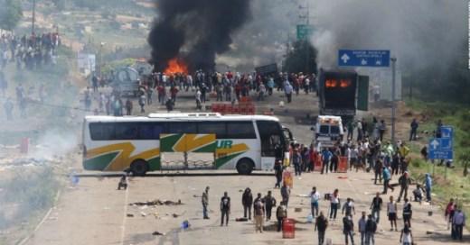 Oaxaca protests, Mexico