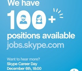 Skype Career Day - 6dets2011