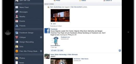 Facebook iPadis