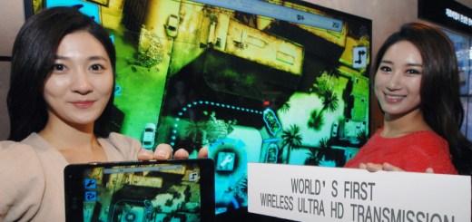 LG juhtmevaba 4K video