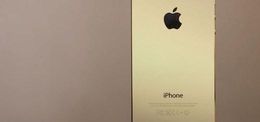 Kuldne iPhone 5S