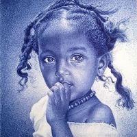 這不是照片 - 非洲藝術家 Enam Bosokah 驚人的原子筆擬真畫作