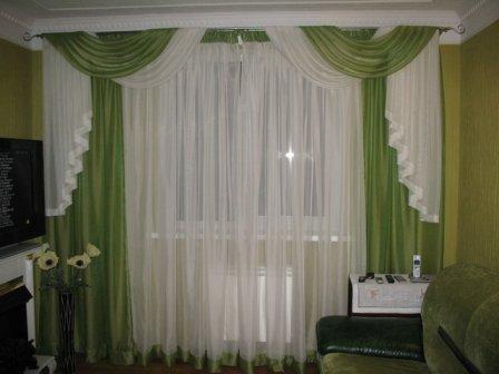 Правило подбора штор для дома