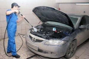 Как правильно осуществить промывку двигателя в машине?