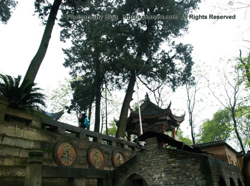 China travel, Chongqing, Dazu, Zen Buddhist Temple. Photo by KaKa.