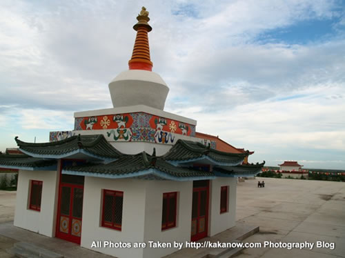 China travel, Inner Mongolia, Gegen Temple. Photo by KaKa.