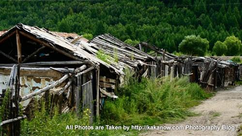 China travel, Inner Mongolia, Hing'an, Aer Mountain, small village. Photo by KaKa.