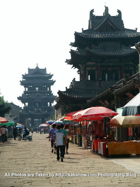China travel, Shanxi Province, Yuci Old Town. Photo by KaKa.