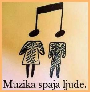 Muzika spaja