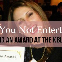 Are You Not Entertained?! Winning an Award at the KBlog Awards