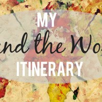 Announcing My Round The World Trip Itinerary!